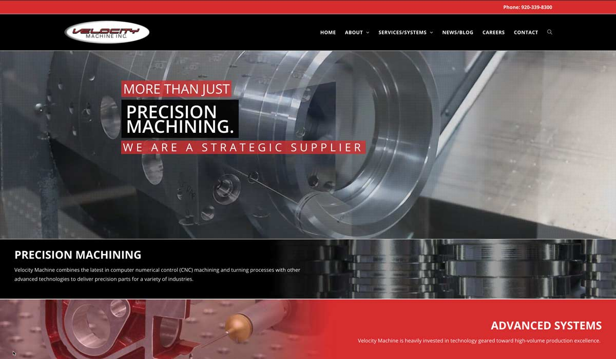 Velocity Machine Inc. Launches Expanded, Updated Website